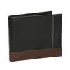 Men's leather wallet bata, black , 944-6149 - 13