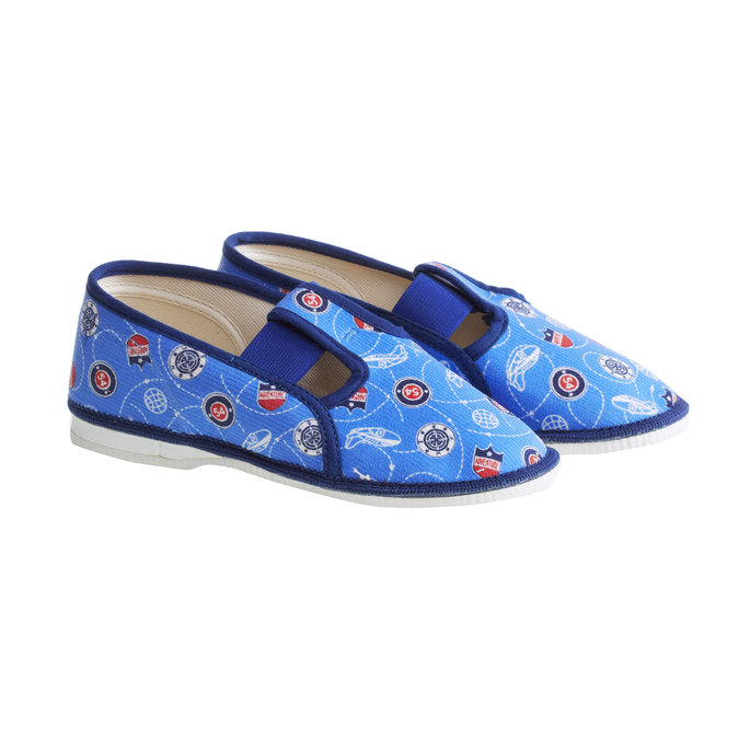Children's slippers bata, blue , 279-9011 - 26