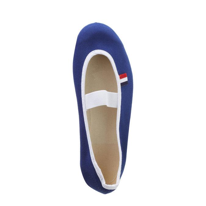 Kids' gym shoes bata, blue , 379-9100 - 19
