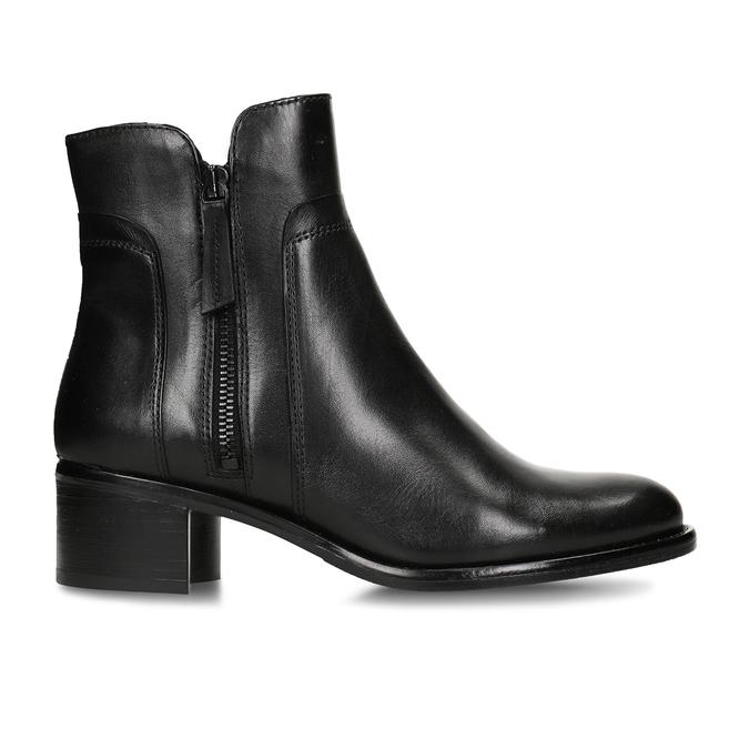 Ladies' ankle shoes bata, black , 694-6600 - 19