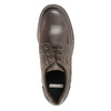 Casual Leather Lace-Ups bata, brown , 826-4640 - 19