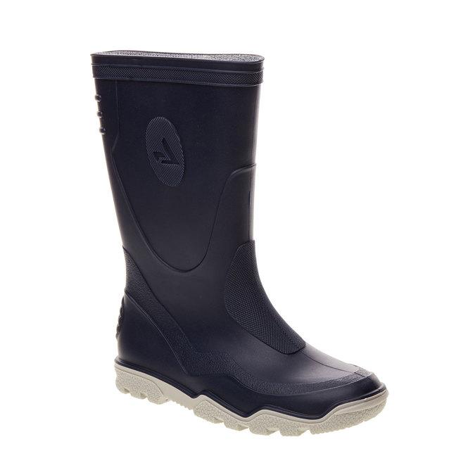 Children´s rubber boots mini-b, blue , 492-9100 - 13