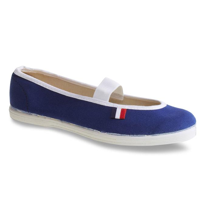 Kids' gym shoes bata, blue , 379-9100 - 13