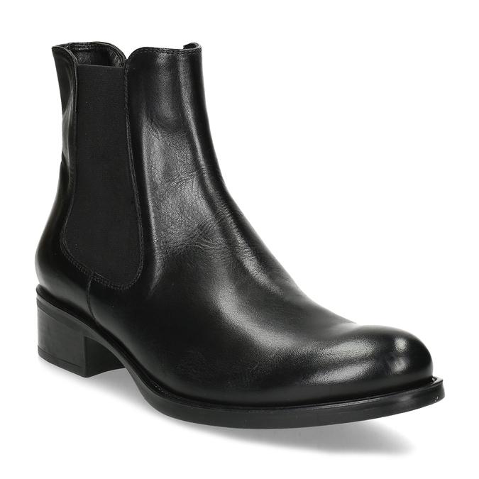 Ladies' leather Chelsea boots bata, black , 594-6448 - 13