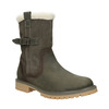 Ladies' winter boots with fur weinbrenner, khaki, 594-2455 - 13