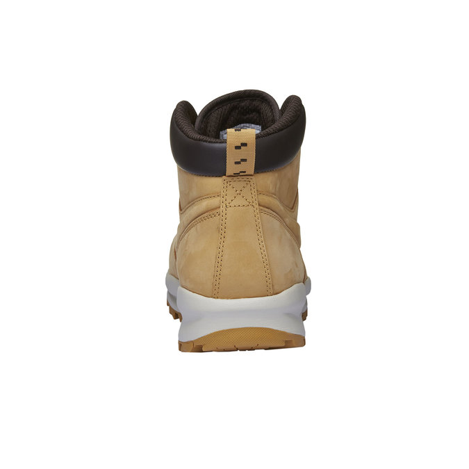 Men's leather ankle boots nike, brown , 806-8435 - 16