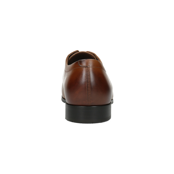 Men´s leather shoes in the Derby style bata, brown , 826-4736 - 17