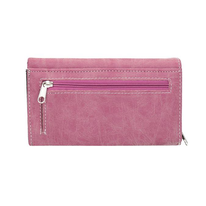 Stylish ladies' purse bata, pink , 941-5153 - 19