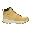 Men's leather ankle boots nike, brown , 806-8435 - 15