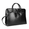 Elegant handbag for carrying in the hand bata, black , 961-6882 - 13