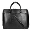 Elegant handbag for carrying in the hand bata, black , 961-6882 - 19