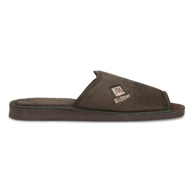 Men's slippers bata, brown , 879-4606 - 19