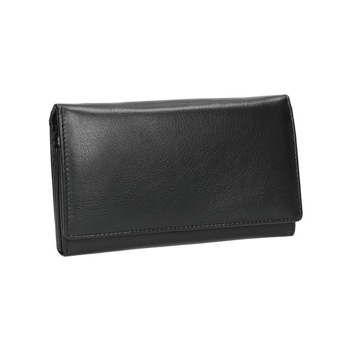 Ladies' leather purse bata, black , 944-6357 - 13