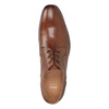Men's brown leather shoes bata, brown , 826-3758 - 17