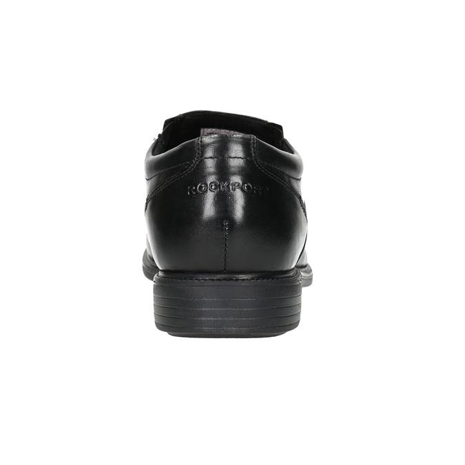 Men's leather shoes rockport, black , 824-6117 - 17