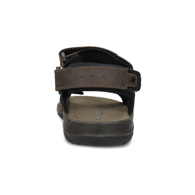 Leather sandals with Velcro fasteners weinbrenner, 866-4631 - 15