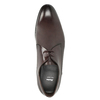 Men's Leather Lace-Ups bata, brown , 826-4648 - 15