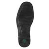 Men's leather moccasins pinosos, black , 814-6622 - 19