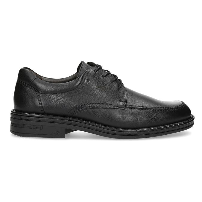 Black leather shoes fluchos, black , 824-6451 - 19