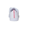 Girls' sneakers with Velcro adidas, white , 301-1268 - 17