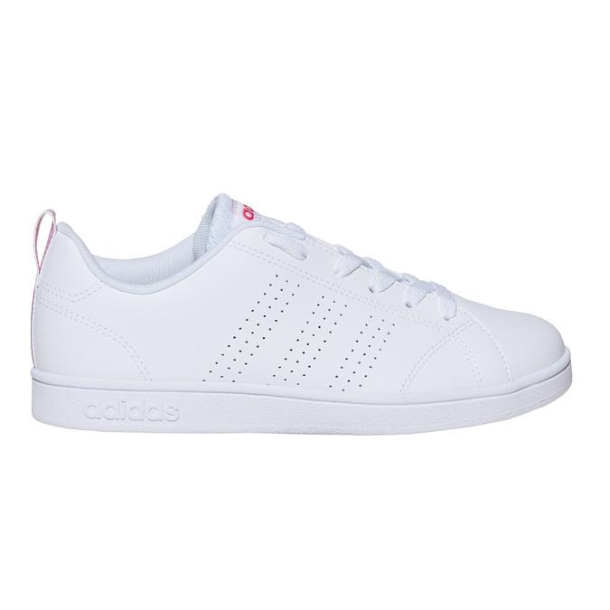 Kids' white sneakers adidas, white , 401-5133 - 15