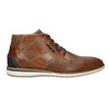 Casual leather ankle boots bata, brown , 826-3912 - 15