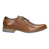 Casual leather shoes bata, brown , 826-3910 - 15