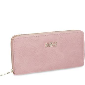 Pink ladies' wallet bata, pink , multicolor, 941-0180 - 13