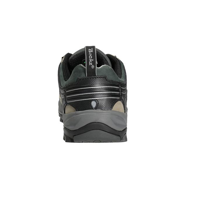 Men's Bickz 201 work shoes bata-industrials, black , 846-6801 - 16