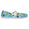 Children's Slippers with Cars bata, blue , 279-9105 - 26