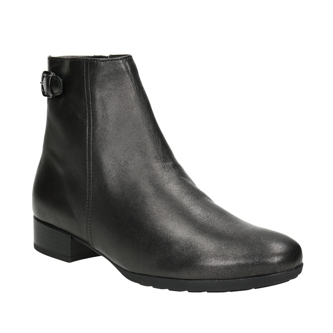 Leather Ankle Boots gabor, 616-4008 - 13