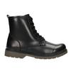 Children's Lace-Up Boots mini-b, black , 391-6407 - 26