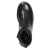 Children's Lace-Up Boots mini-b, black , 391-6407 - 15