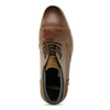 Men's leather ankle boots bata, brown , 826-3611 - 17