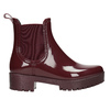 Ladies' Ankle-High Wellington Boots bata, red , 592-5400 - 26