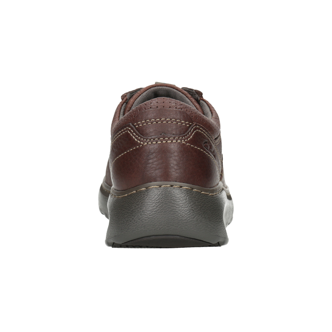 Leather Lace-Ups with Stitching clarks, brown , 826-4024 - 16