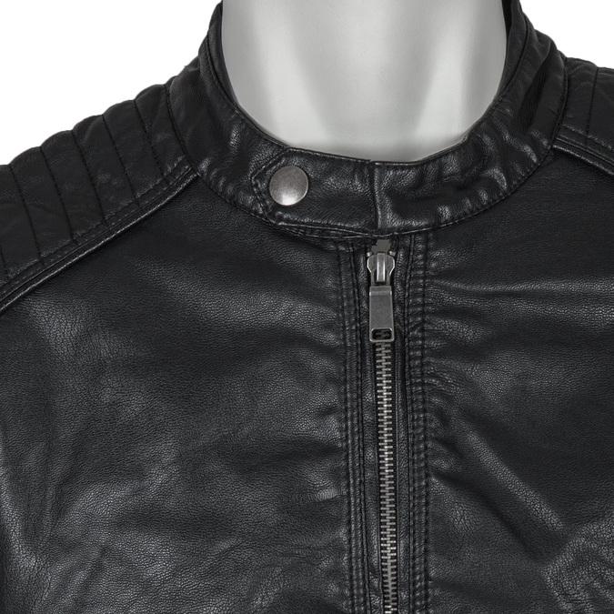 Men's Jacket with Quilting bata, black , 971-6103 - 16