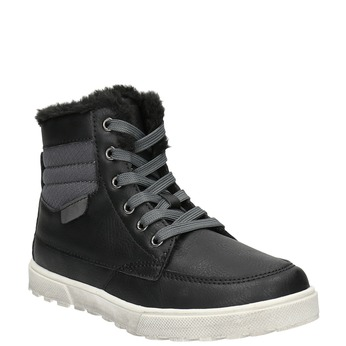 Children's Winter Boots mini-b, black , 491-6652 - 13