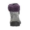 Girls' Winter Boots with Fleece bubblegummer, gray , 193-2601 - 17