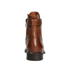 Ladies' leather high boots bata, brown , 596-4680 - 16