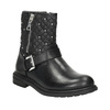Girls' Zipper High Boots mini-b, black , 291-6396 - 13