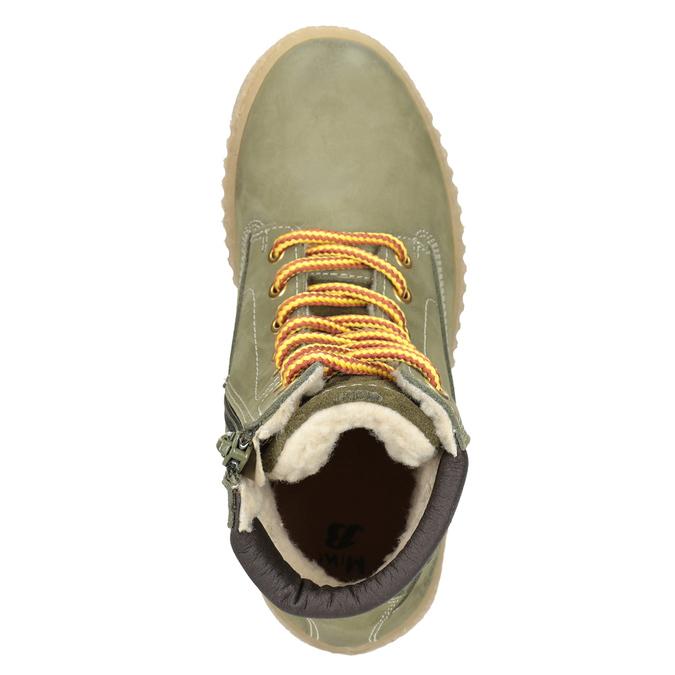 Children's Insulated Winter Boots mini-b, green, 496-3620 - 15