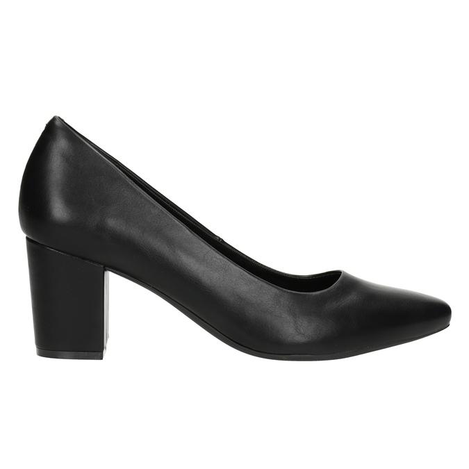 Ladies' black pumps rockport, black , 724-6048 - 26