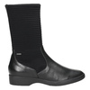 Ladies' leather high boots hogl, black , 614-6037 - 26