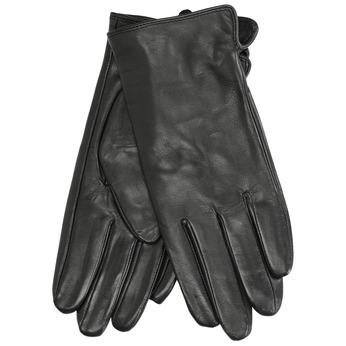 Ladies' leather gloves bata, black , 904-6129 - 13
