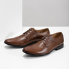 Men's brown leather shoes bata, brown , 826-3758 - 16