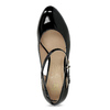 Patent pumps with cut-outs insolia, black , 721-6614 - 17