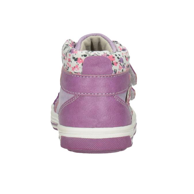 Kids' hi-top sneakers with a pattern bubblegummer, blue , 121-9618 - 16