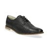Ladies' leather shoes bata, black , 526-6650 - 13
