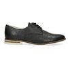 Ladies' leather shoes bata, black , 526-6650 - 19
